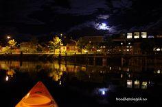 #kayak #night #Trondheim