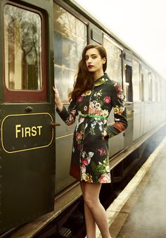 bd0e50bd59a Ted Baker AW13 collection Vintage Travel, Vintage Love, Ladies Winter Coats  2016, Chic