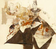 Ute Rathman/Hommage à Lucas Cranach XIV