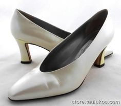 Womens shoes MAGIK by AMALFI Vania High Heel Pumps ITALY Taupe LEATHER sz 7.5 M #Amalfi #PumpsClassics