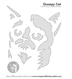 Grumpy Cat pattern