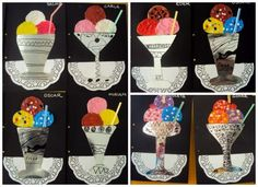Ice cream art for kids