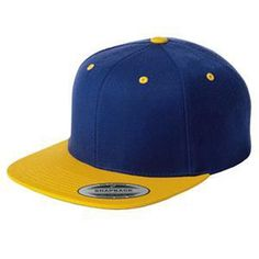 Sport Tek Flat Bill Snapback Cap...On or off the field, this cap is a perfect choice thanks to its sharp styling and spirited color. Fabric: 80/20 acrylic/wool Structure: Structured Profile: High Closure: 7-position adjustable snap.