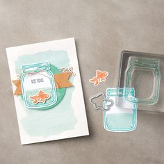 Jar of Love Photopolymer Stamp Set by Stampin' Up! The obsession is real!