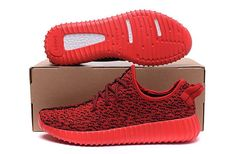 cbd41f9008dfb Adidas Women Men Yeezy Boost 350 Shoes Solar Red Adidas Women