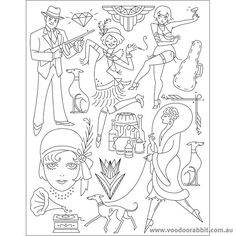 Gatsby Coloring Pages Coloring Pages