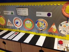Numeracy area display linked to people who help us theme