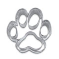 Dog Paw Cookie Cutter. For high quality cookie boxes please visit us at www.betterbakersbox.com