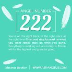 Angel Number 222, What Does It Mean?