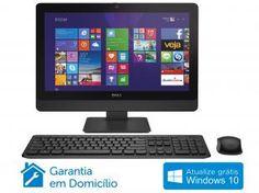 "Computador All in One Dell Optiplex 3030 - Intel Core i3 Windows 8.1 4GB 500GB Tela 19,5"""
