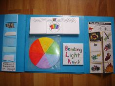 Sprite completed another lapbook today: Light and Color. The whole set of photos can be seen HERE at Flickr. To the right is the living book title for this unit. It is part of our Noeo Physics 1 …