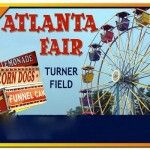Discounts to The Atlanta Fair at Turner Field from February 28 to April 6, 2014:  On Monday-Thursday evenings and Saturday & Sunday afternoons, $25 buys unlimited rides at the Atlanta Fair .  The Unlimited Rides sessions will take place on Monday-Friday from 5:00 p.m.-10:00 p.m.   Saturday & Sunday from opening-6:00 p.m.   Keep a look out to find discounts and coupons on the Atlanta Fair's Facebook page while it's in town.