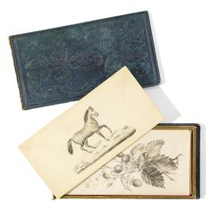 """6103. Small """"Liber amicorum"""" with some drawings"""