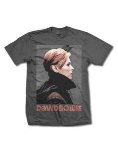 David Bowie Low Profile Mens T-Shirt - Guaranteed Authentic.  Fast Shipping.