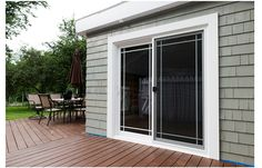 exterior trim around sliding glass doors google search windows