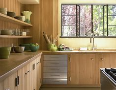 Simple Bamboo Kitchen Design