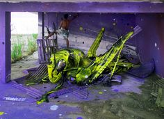 Artist 'Bordalo II' Brings Trash and Found Objects to Life on the Streets of Lisbon