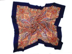 Russian scarf with paisley, Unisex - MAXIM