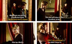 Merlin and Arthur spam
