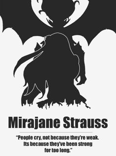 Fairy Tail's Mirajane Strauss She Uses A Magic To Make Her Transform She's Also In Fairy Tail But Isn't In Their Strongest Team Considering Her Backstory.