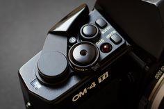 Olympus OM 4-Ti metering and controls