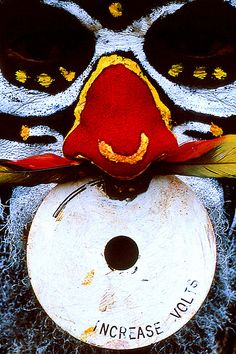 Papua New Guinea - nose ring decoration by Eric Lafforgue, via Flickr