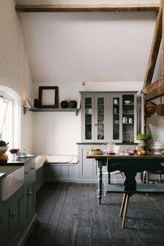 The Loft Kitchen Devol Kitchens Kitchen Spaces In 2019 Kitchen Loft Kitchen, Home Decor Kitchen, Country Kitchen, Kitchen Furniture, Kitchen Interior, New Kitchen, Kitchen Dining, Furniture Stores, Cheap Furniture