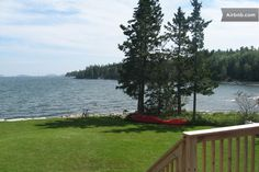 View from the porch at high tide.