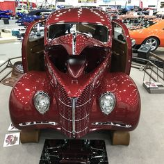 """2018 @Pirelli Great 8 Finalist at @Meguiars Detroit Autorama - Greg & Judy Hrehovcsik & Jon Martin from Alameda, CO - 1957 Chevrolet  #autorama #detroit"""