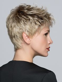 Tab Wig by Ellen Wille Powerful and absolutely perfect! Tab Wig, designed by Ellen Wille, is a short, precision cut wig with bold short layers. The styling possibilities are endless!! Wear it slicked back, swooped, or spiked up with a bit of product. TOP 5 CUSTOMER FAVORITE COLORS: Salt/Pepper Rooted, Sand Rooted, Sandy Blonde Rooted, Silver Mix and Champagne Rooted SPECIAL FEATURES Monofilament Crown - Hand-knotted to create the appearance of natural hair growth where the hair is parted at…
