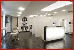 Salon Reception Design Ideas Modern reception desk for hair