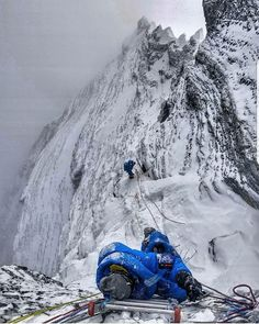 South Col, Top Of Mount Everest, Monte Everest, Climbing Everest, Camping Set Up, Mountain Range, Mountaineering, Adventure Is Out There, Climbers