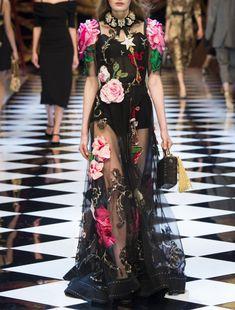 Dolce & Gabbana Fall 2016.
