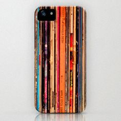 iPhone 5 Case, iPhone 5, vinyl records, plastic iPhone case, skin, cover, rock music, bomobob, vintage LP, iPhone accessory