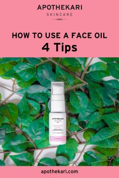 Curious about how to use a face oil. Skincare Blog, Best Skincare Products, Face Oil, Clean Beauty, Beauty Care, Helpful Tips, Healthy Skin, Skin Care Tips, Knifes