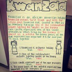 Holidays Around the World: Kwanzaa Weekly Write