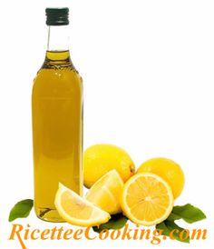 Olio aromatizzato al limone