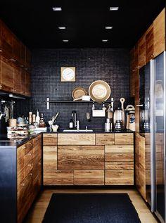 El lado oscuro - Ideas para reformar tu cocina