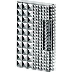 S.T. Dupont L2 Palladium Diamond Head Lighter $990