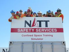 NATT Safety Services- Confined Spaces Training using the NATT Safety Confined Spaces Simulator Confined Space, Safety, Training, Spaces, Security Guard, Work Outs, Excercise, Onderwijs, Race Training