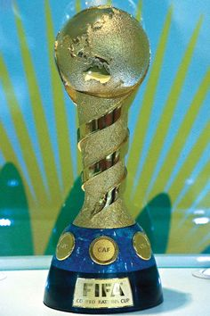 FIFA Confederations Cup    -- Trophy (national teams) Tournament between the holders of FIFA confederation championships (UEFA, CONMEBOL, CONCACAF, CAF, AFC, OFC), along with the FIFA World Cup holder and the host nation. http://en.wikipedia.org/wiki/FIFA_Confederations_Cup