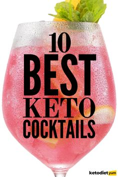 Feeling sad that cocktails are not part of the package when it comes to a Keto diet? Fear not, whilst you may assume that cocktails will not be permitted on a low carb diet, the opposite is true.