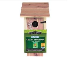 Keep your bird friends fed and protected with the Pennington Classic Bluebird Bird House. Made out of cedar wood, this house has been designed to withstand the elements, so nesting birds can be shielded from the weather. | eBay!