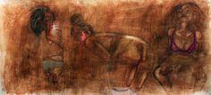 "Jay Katelansky  ""Creatures by another name"", 2012 http://cargocollective.com/Jkatelansky/  http://shiftingself.tumblr.com/"