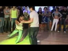 """Magna Gopal doing a quick freestyle to the song """"Jazzy"""" by """"Willie Colon"""" and also having a social dance with some Korean salseros at the Korea Salsa Congres..."""