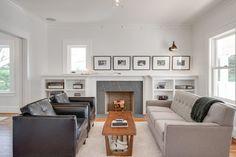 JIM ARNAL SIGNATURE HOME #1- NE 45TH & SISKIYOU - craftsman - living room - portland - JIM ARNAL, REALTOR / Hasson Company Realtors