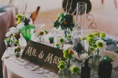 rustic sweetheart table inspiration