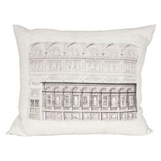 At Rain Collection, we love vintage. This Vintage Facade Pillow is also made of hemp, which makes it another thing we love: environmentally-conscious!