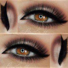 #flawless paola.11 Eyeshadows: chrislieformulations 'Desert Nights' eyeshadow palette Liner: chrislieformulations Amplifying Liquid Eyeliner in 'Blackest Black'