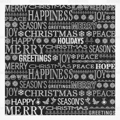 Chalk drawn Merry Christmas PSD background